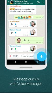 WhatsApp Messenger Screenshot - 4