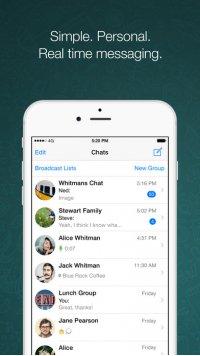 WhatsApp Messenger Screenshot - 1